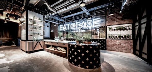 Eat @ Ease:  Bars & clubs by Artta Concept Studio
