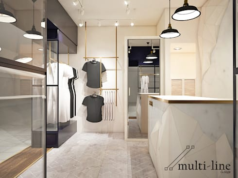HNET Store:  Kantor & toko by Multiline Design