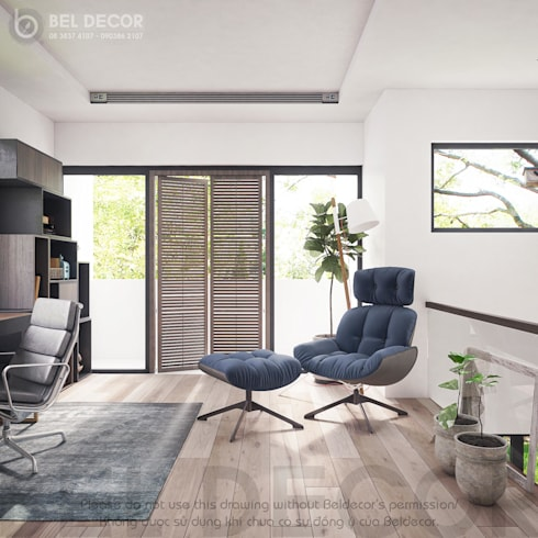 Reading Room:   by Bel Decor