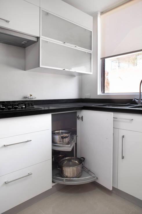 Remodelación Depto Homero: Cocinas de estilo moderno por ARCOP Arquitectura & Construcción