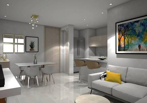 modern Dining room by Savignano Design