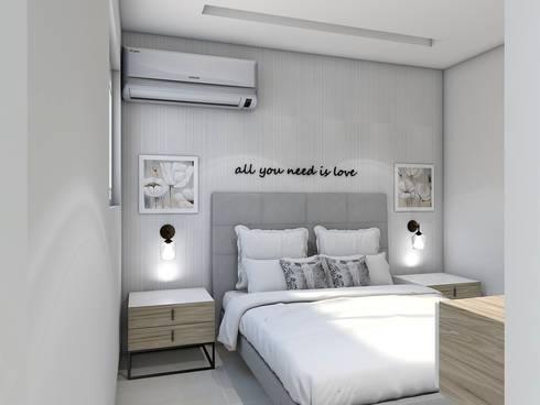 modern Bedroom by Savignano Design