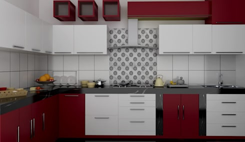 Residential 1: modern Kitchen by Falcon Resources