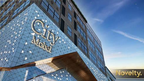 City Mobel Furniture: modern Houses by Novelty design studio