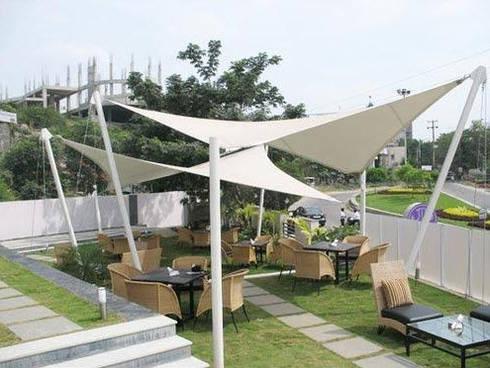 Tenda Membrane Layar:   by bintang canopy