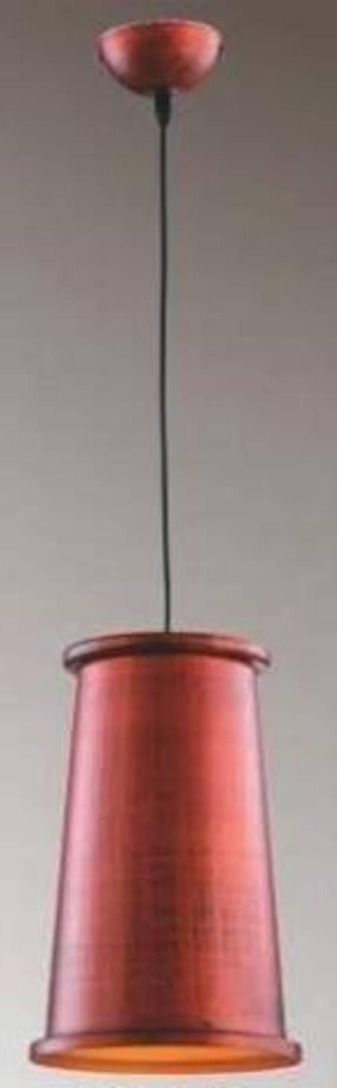 吊燈:  購物中心 by 劉旋設計事務所/劉旋工程有限公司