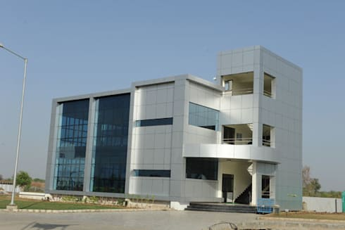 Corporate Organization:  Office buildings by Sumer Interiors