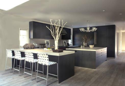 Plunkett Place: modern Kitchen by andretchelistcheffarchitects