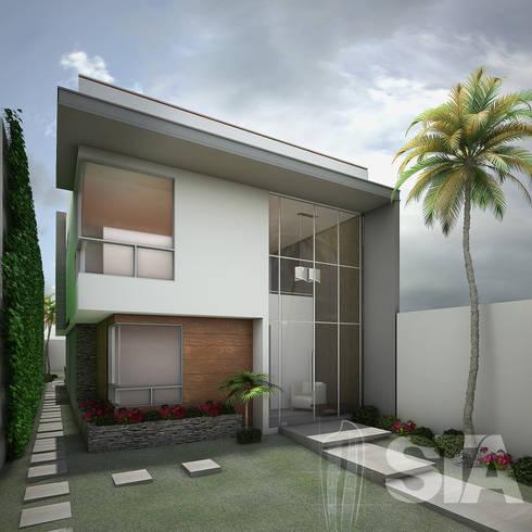modern Houses by Soluciones Técnicas y de Arquitectura