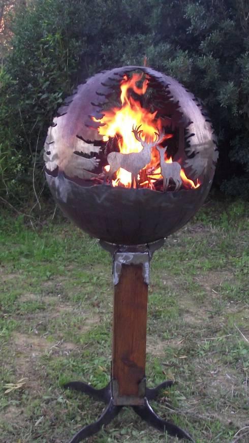 Feuerkugel wald von feuerkugel homify - Feuerkugel garten ...