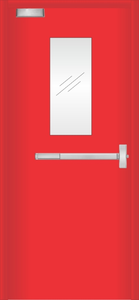 pintu emergency:  Pintu by PT. Golden Prima Sentosa