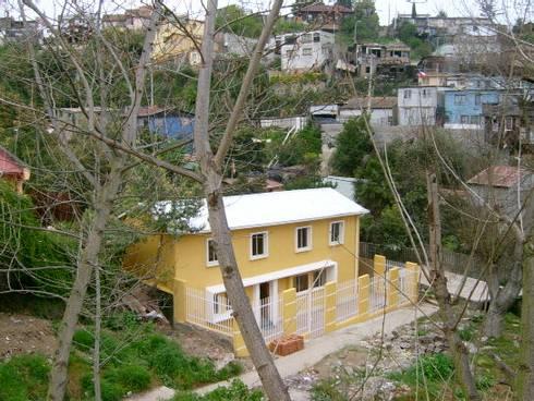 REMODELACIÓN CASA SHARBERG: Casas unifamiliares de estilo  por AOG SPA