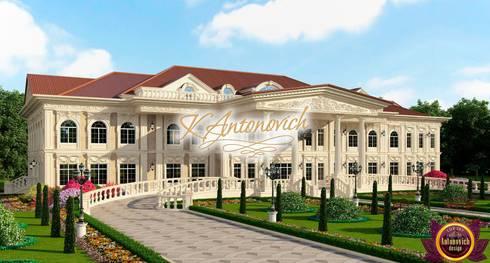 House architecture of  Katrina Antonovich: classic Houses by Luxury Antonovich Design