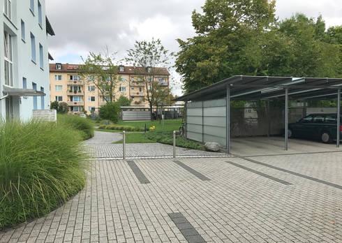 Landschaftsarchitekten München lerchenauer straße münchen by clemens fauth landschaftsarchitekten