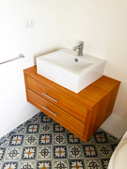 Remodelación Casa Matta: Baños de estilo  por ARCOP Arquitectura & Construcción