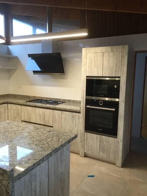 Кухни в . Автор – ARCOP Arquitectura & Construcción
