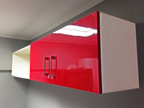 Oficina Panificadora La Reina: Oficinas y tiendas de estilo  por ARCOP Arquitectura & Construcción