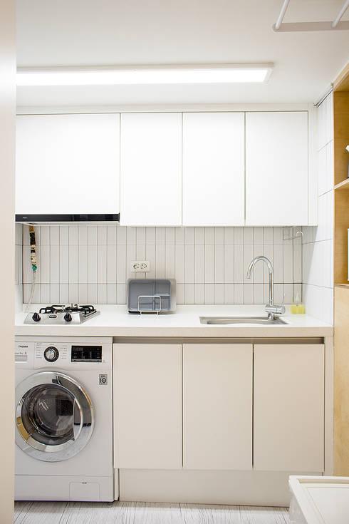 廚房 by 플레이디자인