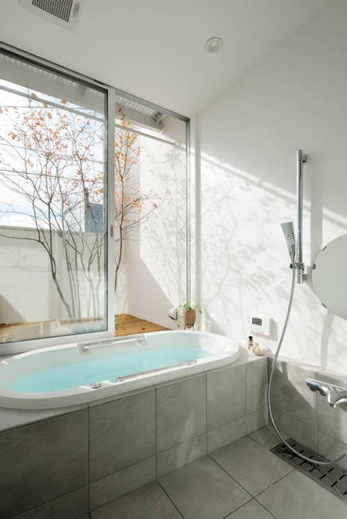 伊奈小針のいえ: arc-dが手掛けた浴室です。