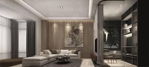 家的想像:  客廳 by 竹村空間 Zhucun Design