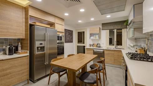 Casa Verde:  مطبخ تنفيذ Hany Saad Innovations