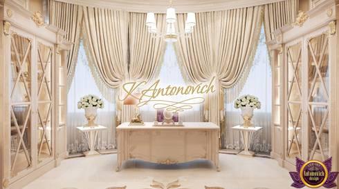 Office design ideas  from Katrina Antonovich: classic Study/office by Luxury Antonovich Design