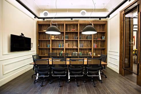modern Study/office by Mazura