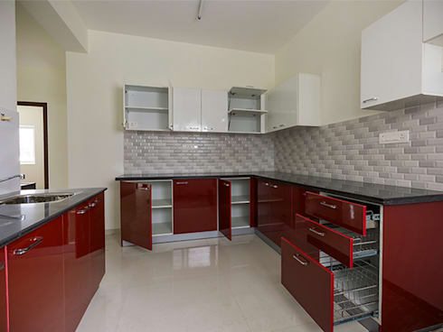 Top 10 interior designers in bangalore: modern Kitchen by Urban Living Designs