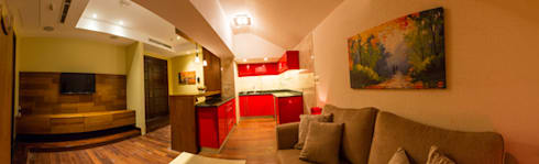 basement - Guest private suite :   by Lotfi & Mourre Consulting