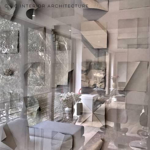 APARTAMENTO ROSALES   Residencial: Arte de estilo  por C   C INTERIOR ARCHITECTURE
