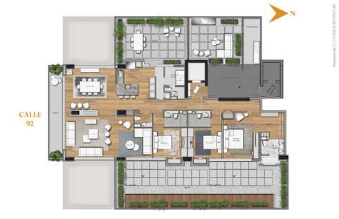 APARTAMENTO VALENBO | Residencial:  de estilo  por C | C INTERIOR ARCHITECTURE