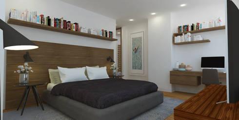 APARTAMENTO VALENBO II | Residencial: Habitaciones de estilo moderno por C | C INTERIOR ARCHITECTURE
