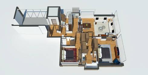 APARTAMENTO VALENBO II | Residencial:  de estilo  por C | C INTERIOR ARCHITECTURE