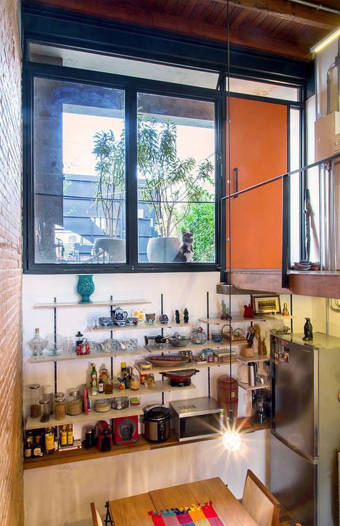 廚房 by ODVO Arquitetura e Urbanismo