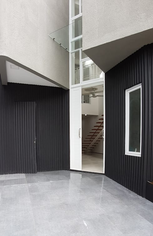 Pintu masuk:  pintu depan by Parametr Architecture