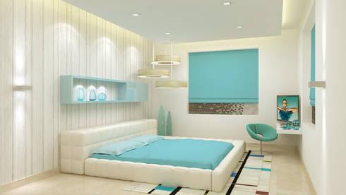 chaitali:   by De Panache  - Interior Architects