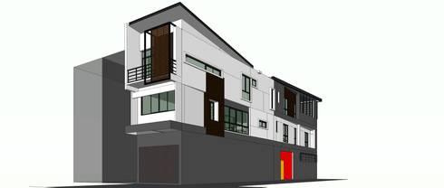 same house:   by i am architect CO.,Ltd.