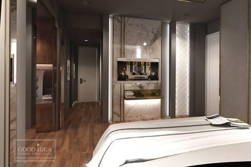 The Bangkok Sathorn Condominium:   by GOOD IDEA INTERIOR CO.,LTD.