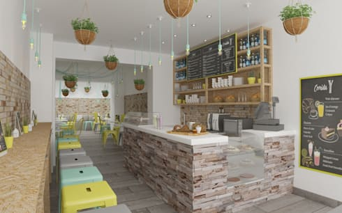 Gastronomy by Isabel Gomez Interiors