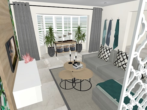 house P:   by Kirsty Badenhorst Interiors