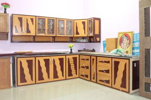 PVC interiors: modern Bedroom by keerthipvcinteriors