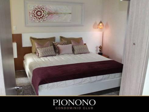 Proyecto Pionono -Bogota. Colaboración con Arte con Elvira.: Hogar de estilo  por TICKTO STUDIO