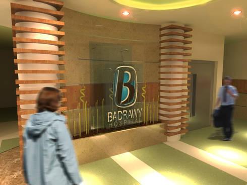 لقطة 2 للمدخل :  مستشفيات تنفيذ Quattro designs