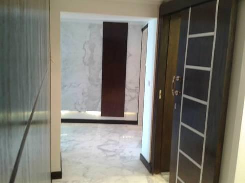 صالة المدخل :   أبواب تنفيذ Quattro designs