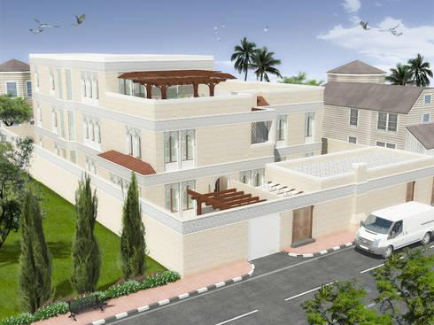 مسكن خاص بابها بالسعودية :   تنفيذ Quattro designs