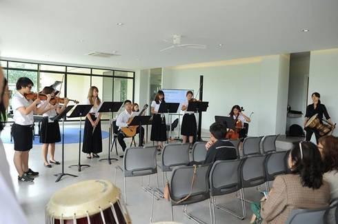 ศูนย์เรียนรู้และสันทนาการ สถาบันดนตรีกัลยาณิวัฒนา:  ตกแต่งภายใน by A2-Studio