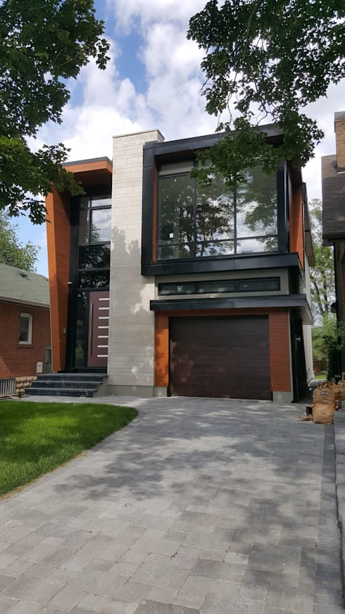 Park Hill Rd: modern Houses by Contempo Studio