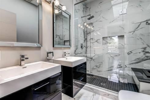 Elderfield Cres: modern Bathroom by Contempo Studio