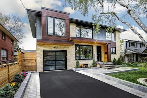 Elderfield Cres: modern Houses by Contempo Studio
