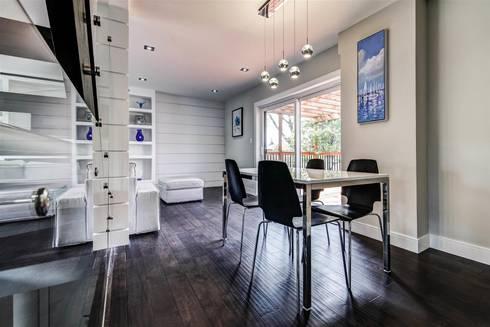 Elderfield Cres: modern Dining room by Contempo Studio